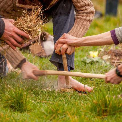 Embercombe Acorn Training Bowdrill Connection